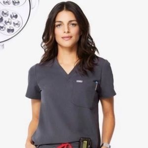Figs CHARCOAL Catarina Top